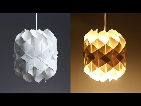 DIY Cool Paper Lamp