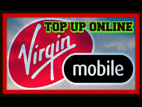 Buy Virgin Mobile Top Up Online- Voucher Code Delivered to Email.