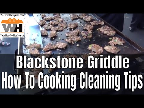 How To Clean and Maintain Your Blackstone Griddle | Cooking Tips | Weekend Handyman