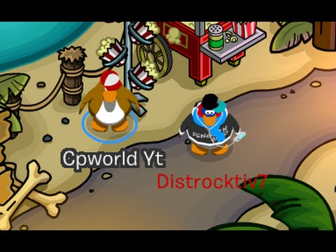 Club Penguin: How to Change Your Name Color