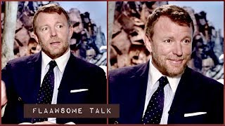 Download GUY RITCHIE trying to explain his own DIRECTING STYLE - and how he calms his nerves Video
