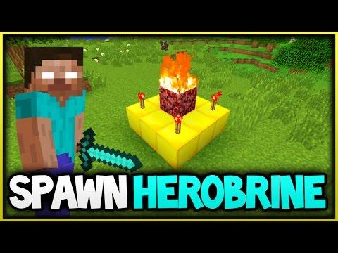Minecraft Herobrine Spawner Tutorial(XboxOne/Xbox360)  (Ps3PS4)