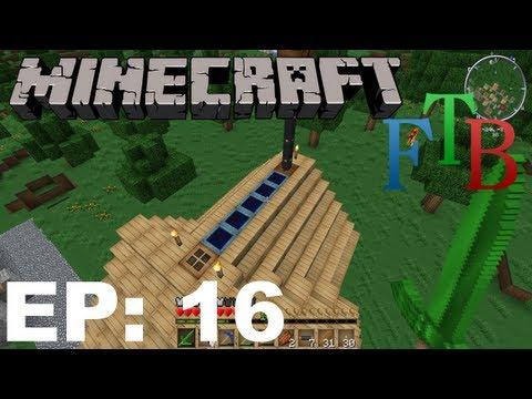 FTB Minecraft EP16 - Industrial Electrolyzer & Barrels