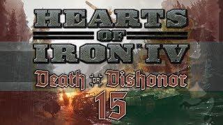 Hearts of Iron IV DEATH OR DISHONOR #15 NUCLEAR BLITZ - HoI4 Austria-Hungary Let
