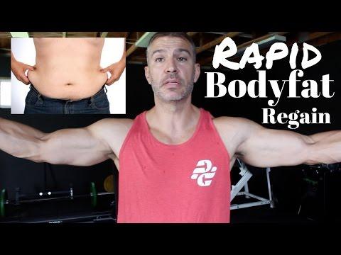 Rapid Body Fat Regain