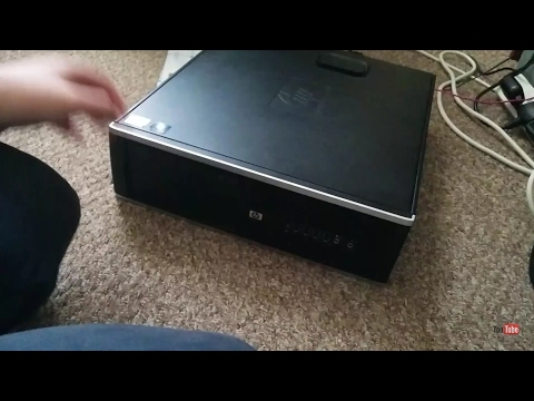 UNBOXING A HP COMPAQ PRO 6000 SFF (FINALLY GOT A PC!!)