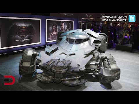 2016 Batmobile on Display on Everyman Driver