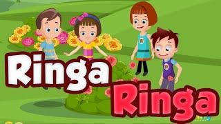 Ringa Ringa Roses - Popular Nursery Rhymes   HD Version