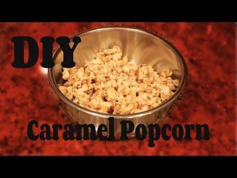 Easy DIY Caramel Popcorn (in the Microwave) -HowToByJordan