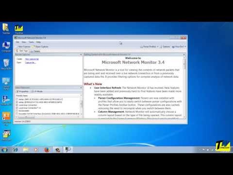 How to Install and Use Microsoft Network Monitor (Netmon Tutorial)
