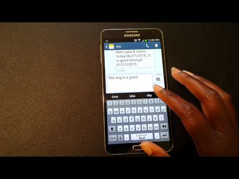 Predictive text and Auto replacement on Note 3