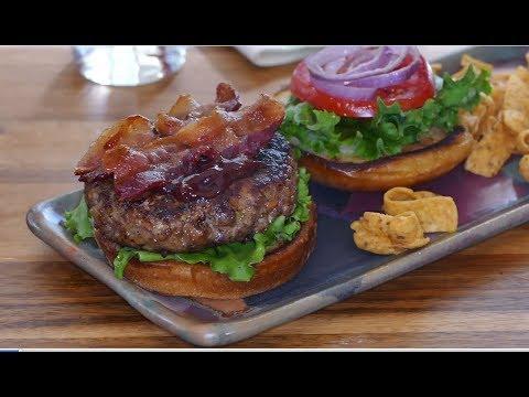 How to Make a Meatloaf Burger