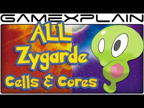 All Zygarde Cell & Core Locations in Pokémon Sun & Moon (100% Guide & Walkthrough)