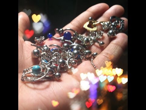 My Belly Button Ring Collection!!