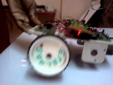 DC Motor Speed Control Using AVR MicroController(PWM Technique)