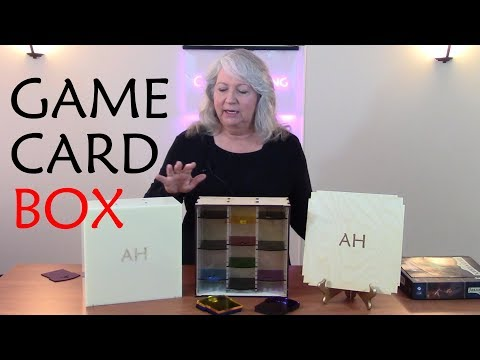 How to Design and Laser Cut a Game Card Storage Box