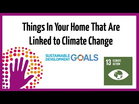 Things in Your Home that are Linked to Climate Change