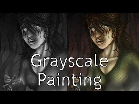 Painting Grayscale to Color in Photoshop