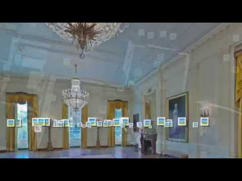 Google Earth: How it feels to go in the white house