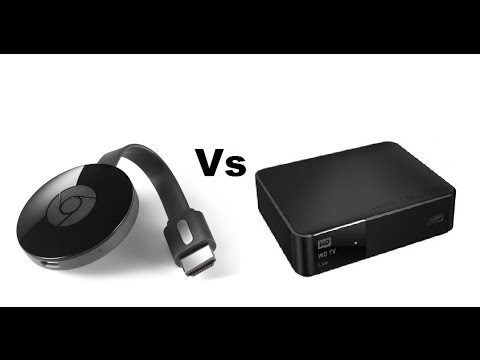 WD Media Player VS Chromecast!
