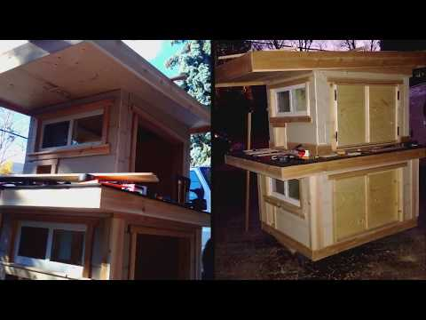 Outdoor Cat House - Insulated Winter Cat House For Stray Cats
