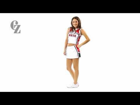 Cheerleader Uniform Top & Skirt | CF1513 CF2390