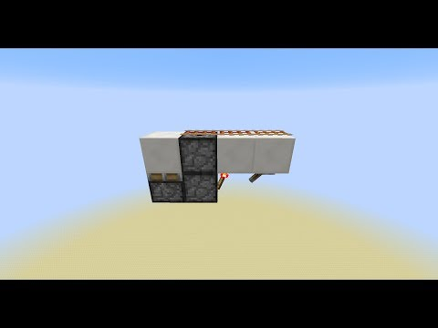 Ready-Cart Minecart Dispenser - Minecraft Tutorial