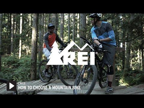 How to Choose Mountain Bikes