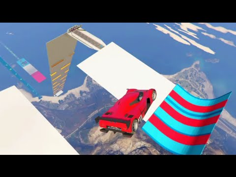 GTA 5 Stunt Olympics Custom Olympic Events Cunning Stunts Race