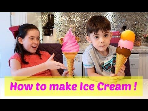How to make  Strawberry Vanilla Ice Cream - Easy Recipe