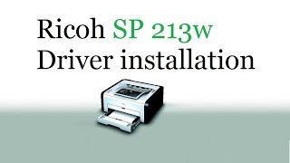 How to download and install Ricoh SP C250DN / C252DN driver