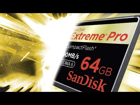 FK3 Product Launch Video: SanDisk Extreme PRO® card Launch