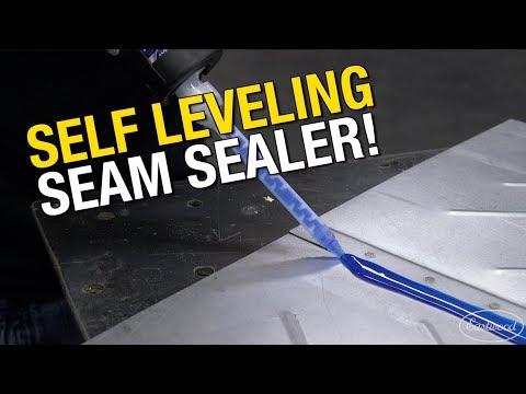 Watch 2K Self Leveling Seam Sealer Work! Floor Pans & Underwater Application - Eastwood