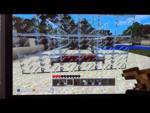 How to make Glass Blocks in Minecraft (Xbox360)