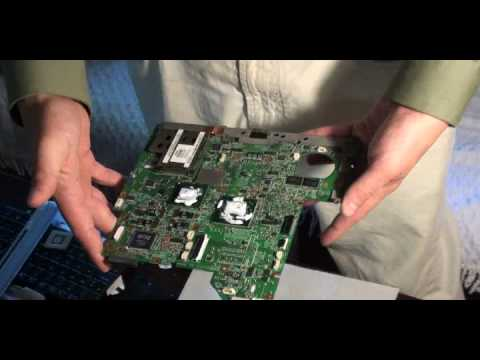 Baking the Motherboard-HP Pavilion DV2500 Nvidia Video Chip Fix - No Video / Corrupted Video Issue