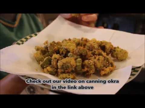 Frozen, Canned Fried Okra