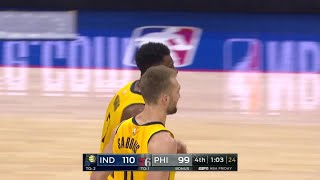 4th Quarter, One Box Video: Philadelphia 76ers vs. Indiana Pacers