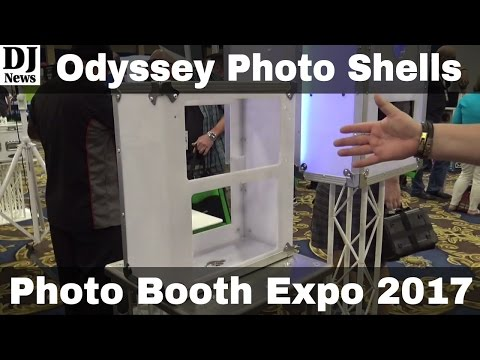 Odyssey Cases Photo Booth Cases, Stand, Back Drops From Photo Booth Expo 2017 | Disc Jockey News
