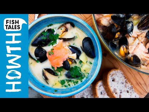 Irish SEAFOOD CHOWDER | Bart's Fish Tales & Donal Skehan