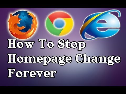 How  To Stop Homepage Change Forever
