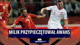 Jedziemy na Euro 2020! Zobacz trafienie Arkadiusza Milika | Polska – Macedonia Płn. 2:0