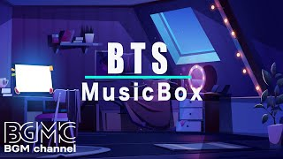 BTS MUSIC BOX: BTS Songs Music Box Playlist for Relaxing, Sleeping, and Stress Relief