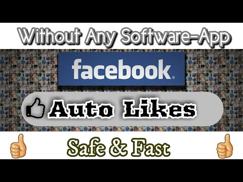 Auto Likes For Facebook Without Any Software And App