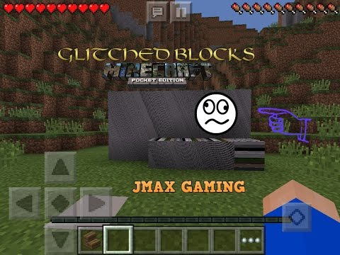 HOW TO GET GLITCHED BLOCKS MCPE