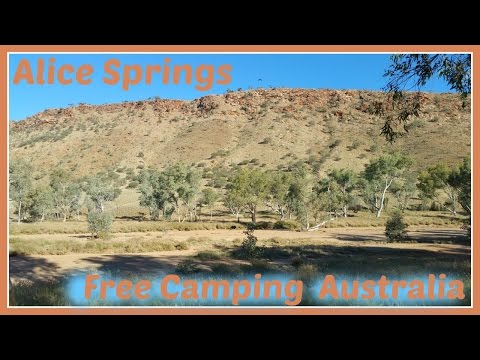 Walk about Alice Springs | Free Camping Australia