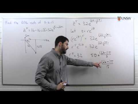 Fifth Roots of a Complex Number