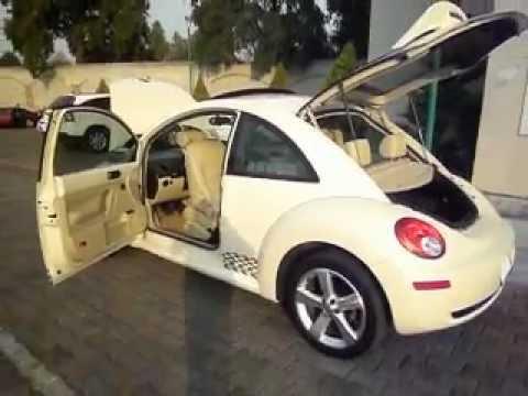 Vendo Precioso VW Beetle 2009 GLX color beige Deportivo - Única dueña!!