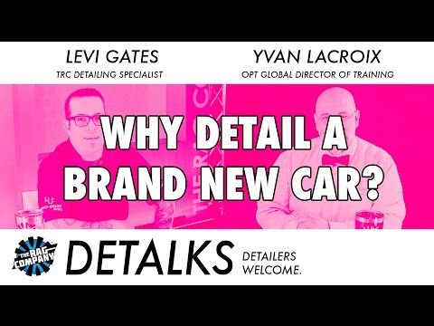 Why Would You Detail A BRAND NEW Car? - DETALKS