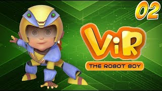 Vir: The Robot Boy | Hindi Cartoon Series For Kids | Car Thief | Hindi Stories | Wow Kidz
