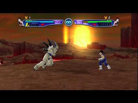 Dragon Ball Z: Budokai 3 HD Collection - Vegeta (SSJ4) Vs Omega Shenron